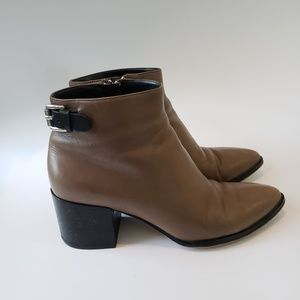 Michael Kors leather booties size 6.5
